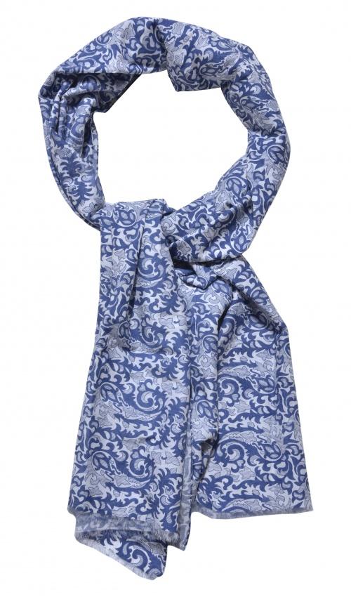 Ručne vyrábaný bavlnený šál