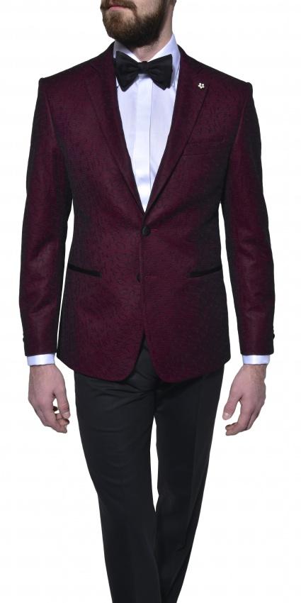 LIMITED EDITION formal burgundy blazer