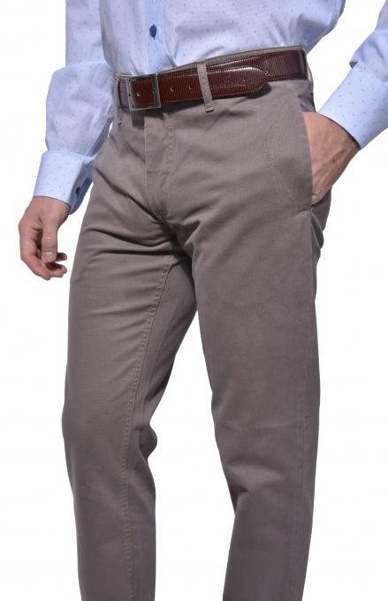 Béžové chinos nohavice