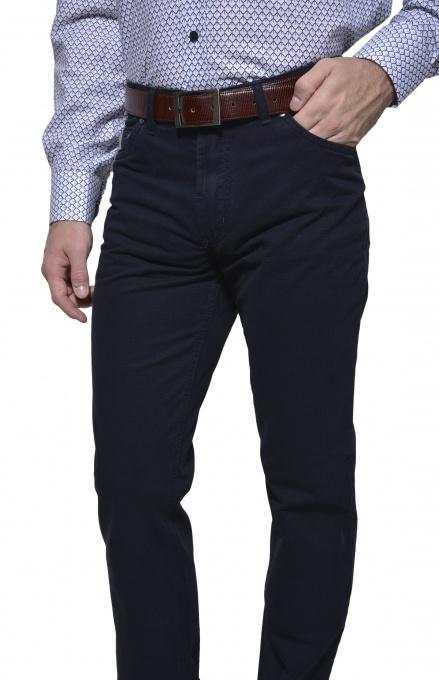 Dark blue casual trousers