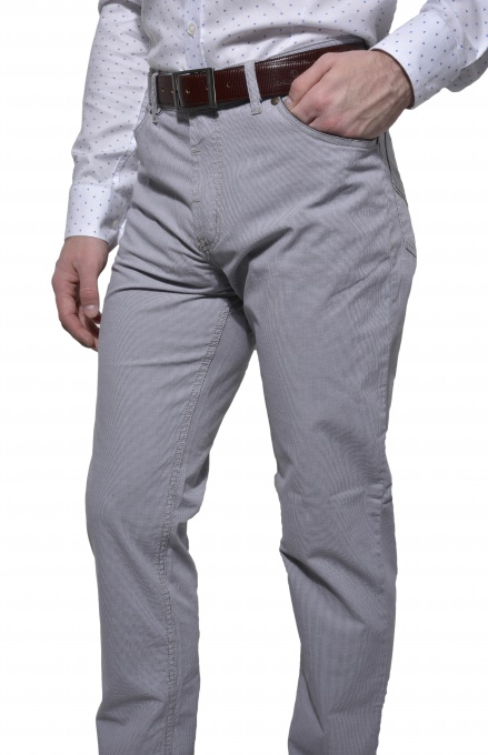 Grey casual trousers