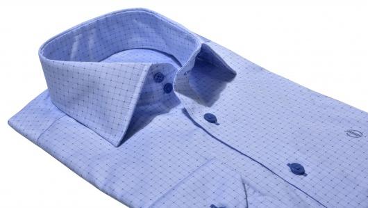 Modrá Classic Fit business košeľa