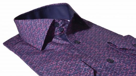 LIMITED EDITION casual Extra Slim Fit printed shirt