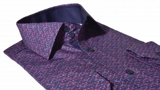 LIMITED EDITION voľnočasová Extra Slim Fit košeľa s printom