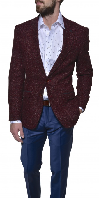 LIMITED EDITION burgundy blazer