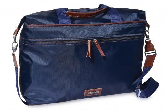 Modrá plátená taška