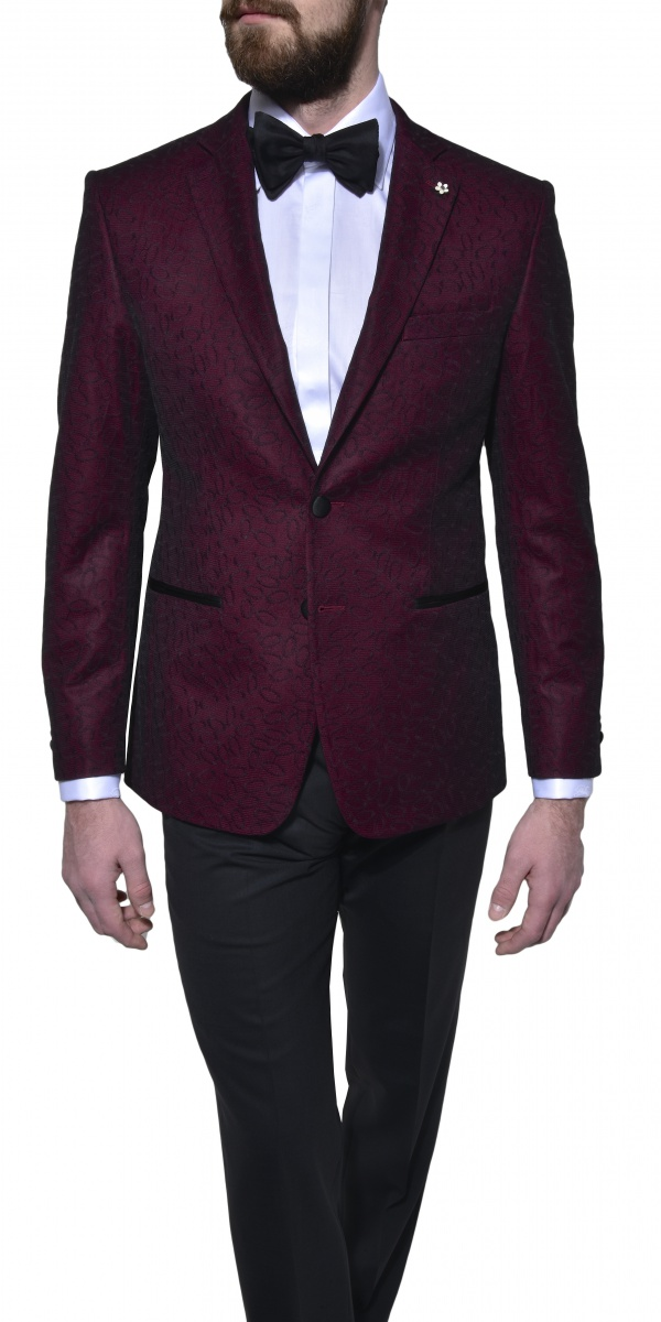LIMITED EDITION formal burgundy blazer