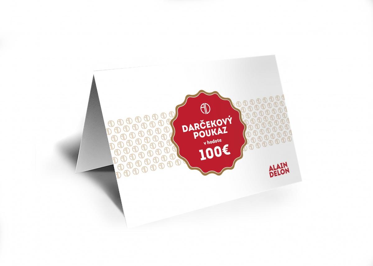 100€ Darčeková poukážka