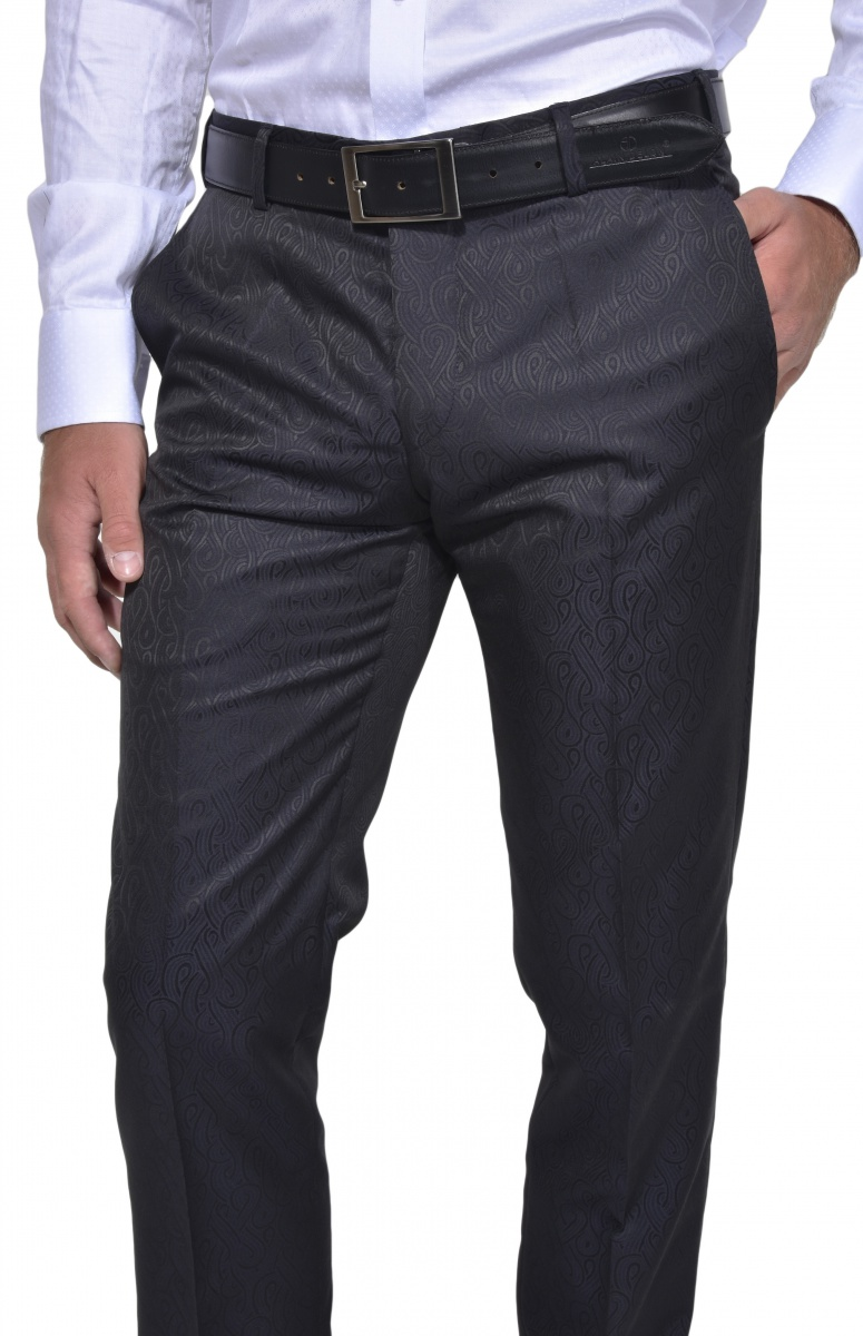 Čierne spoločenské nohavice Richard Müller 55 Edition