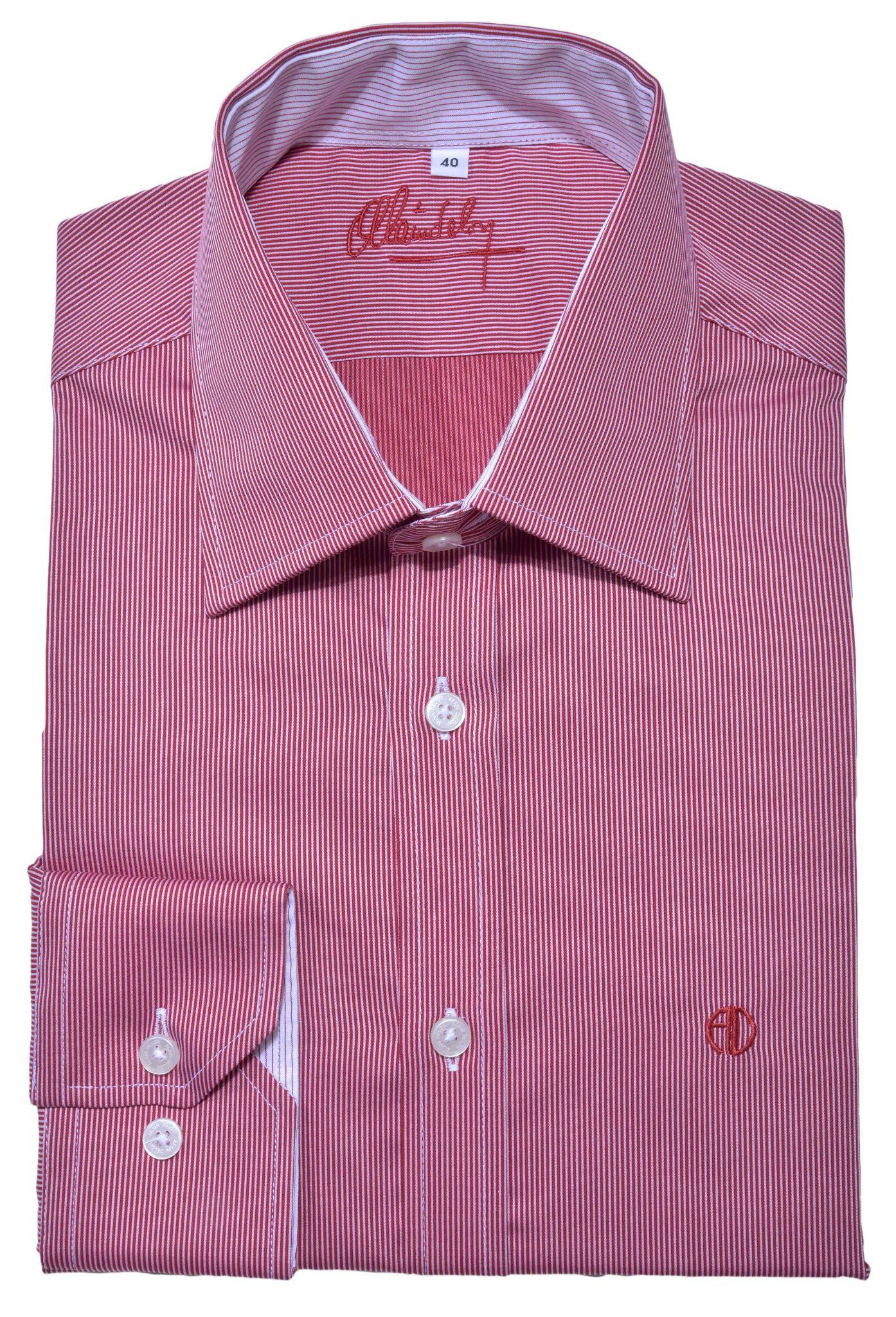 Red Extra Slim Fit Shirt Shirts E Shop