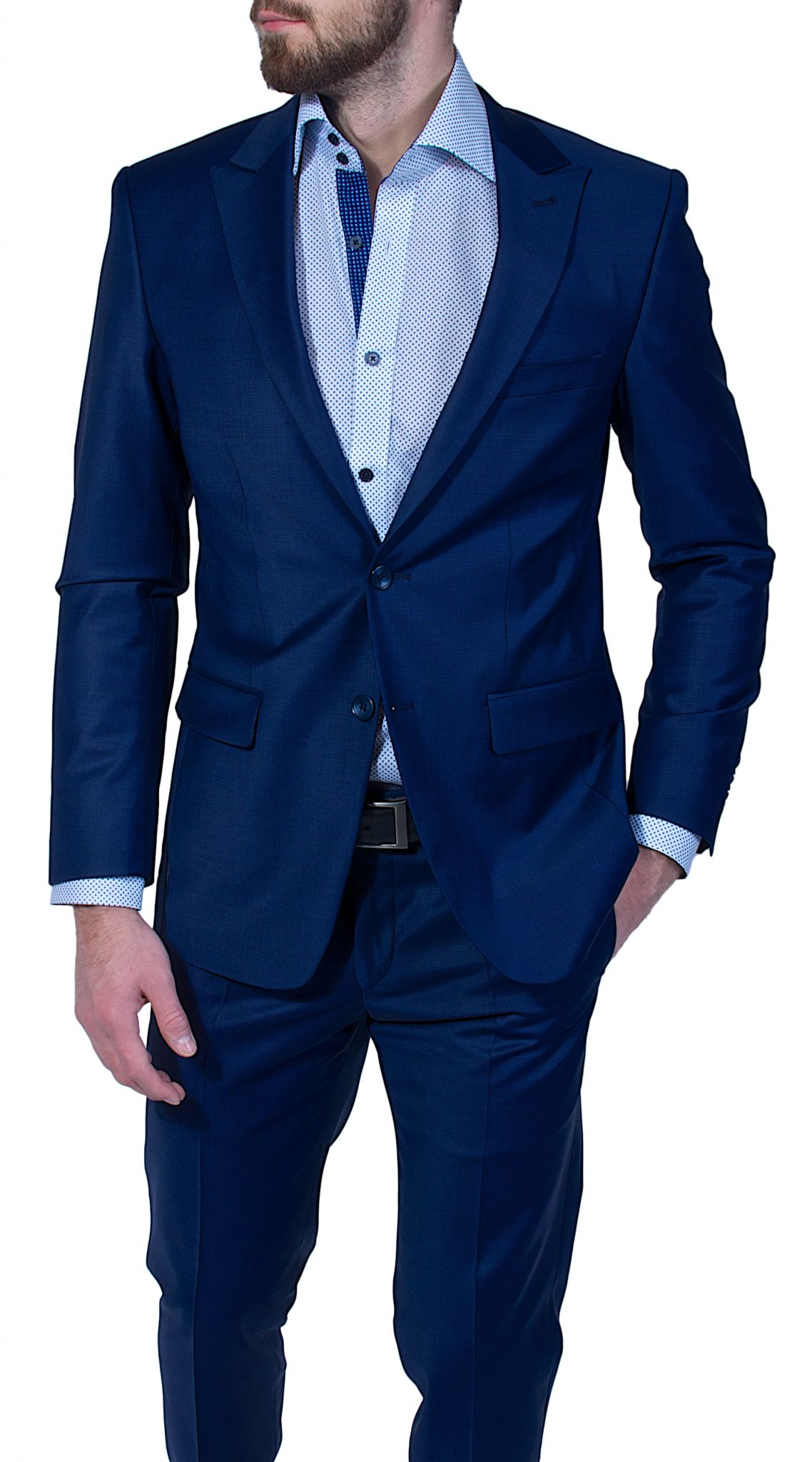 dark blue slim fit suit suits eshop alaindeloncouk
