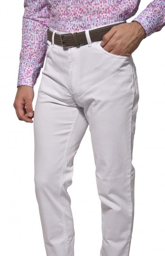 Biele jeansy