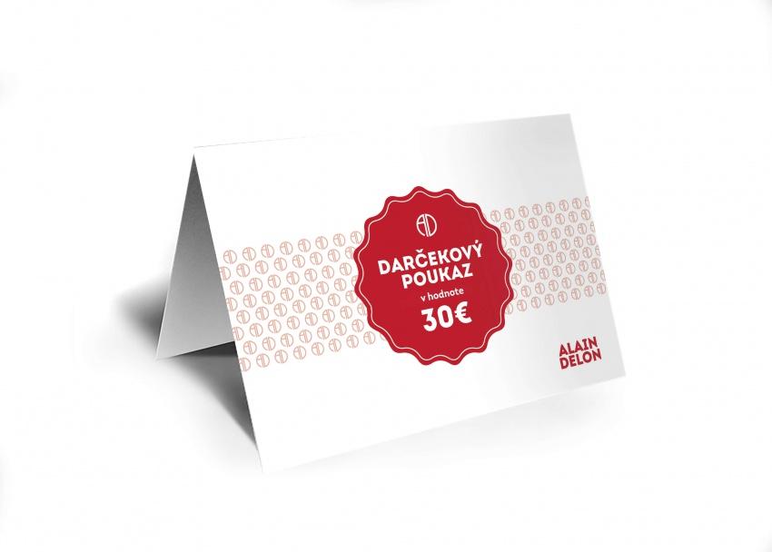 30 € Darčeková poukážka