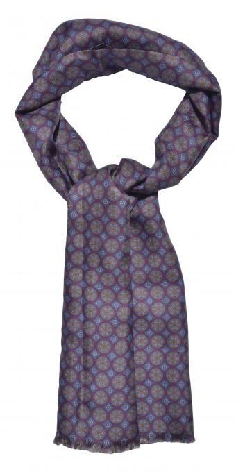 Ručne vyrábaný hodvábny šál