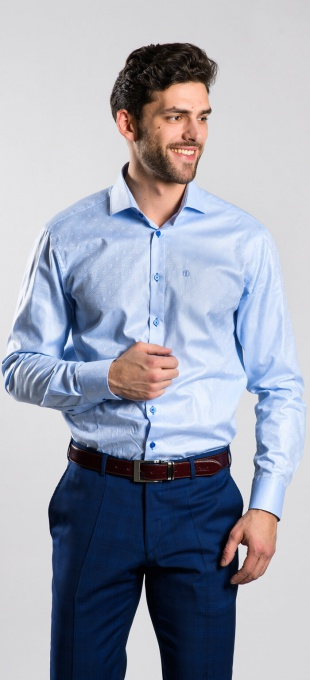 LIMITED EDITION blue Classic Fit shirt