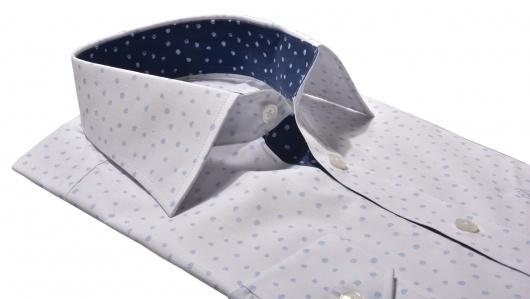 Light blue Basic Extra Slim Fit shirt