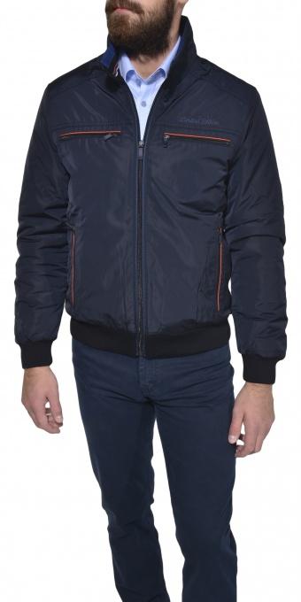 Dark blue casual jacket
