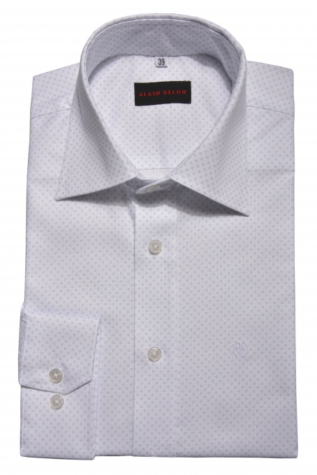 Biela Basic Slim Fit košeľa