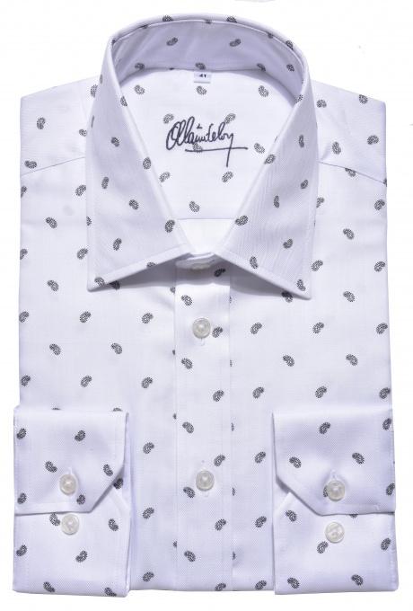 LIMITED EDITION white Classic Fiť shirt