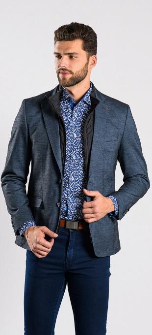 Autumn cotton blazer