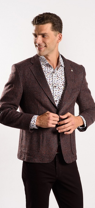 Brown autumn blazer
