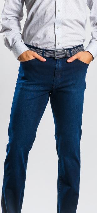 Tmavomodré džínsy