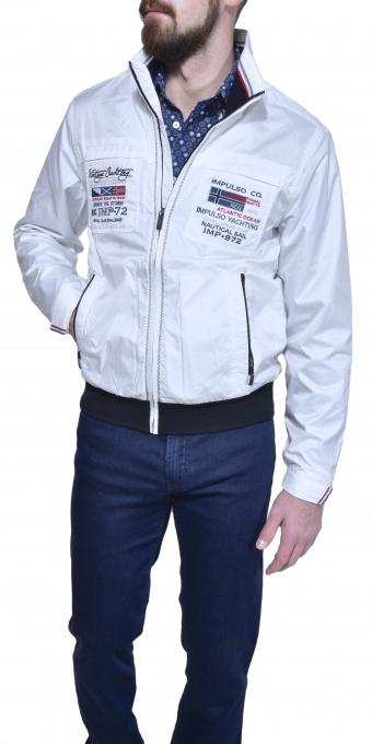 White casual jacket