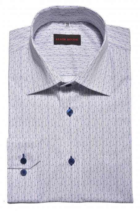 Modrá Basic Slim Fit košeľa
