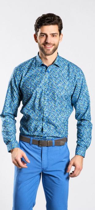 Výrazná voľnočasová Extra Slim Fit košeľa