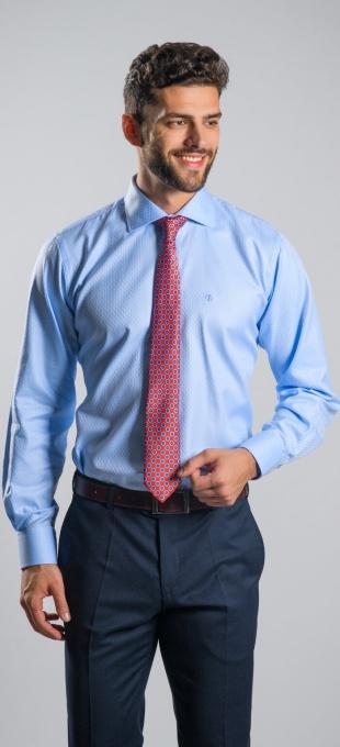 LIMITED EDITION blue Slim Fit shirt