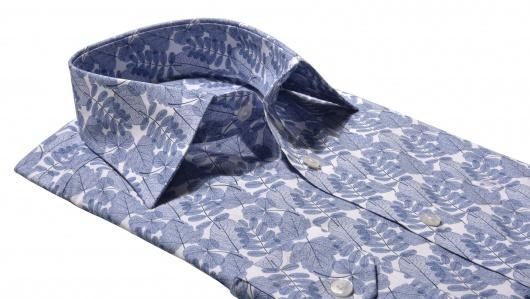 Blue Basic Extra Slim Fit shirt