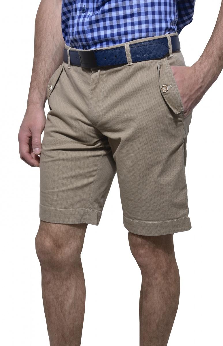 Béžové krátke nohavice