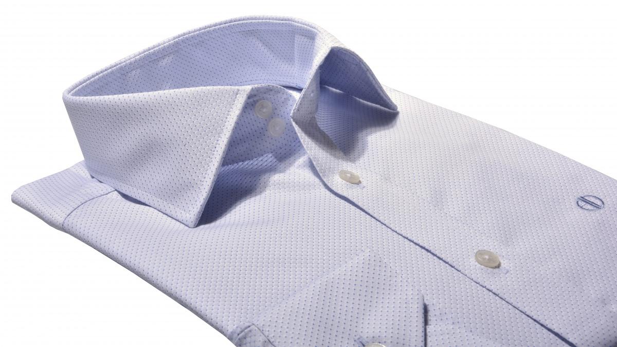 Modrá Extra Slim Fit košeľa