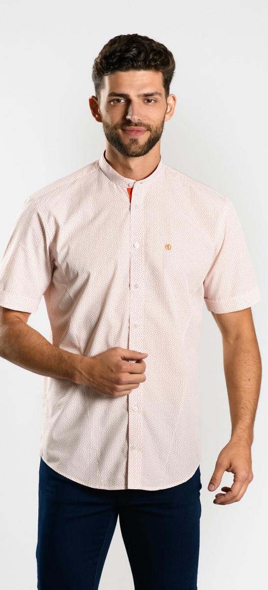 Voľnočasová Extra Slim Fit košeľa s krátkym rukávom