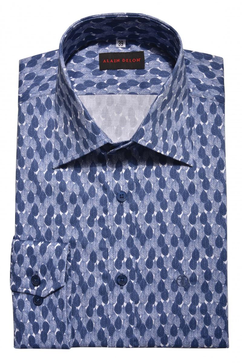 Modrá Basic Extra Slim Fit košeľa