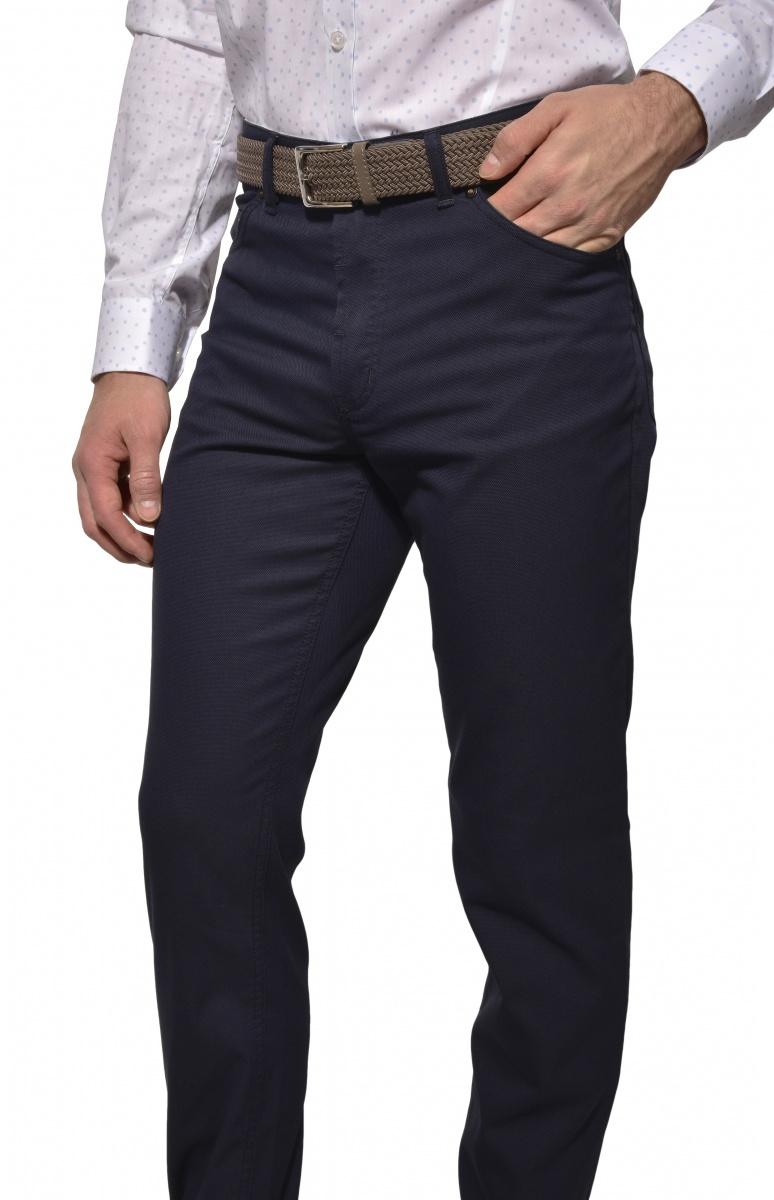 Tmavomodré Basic nohavice