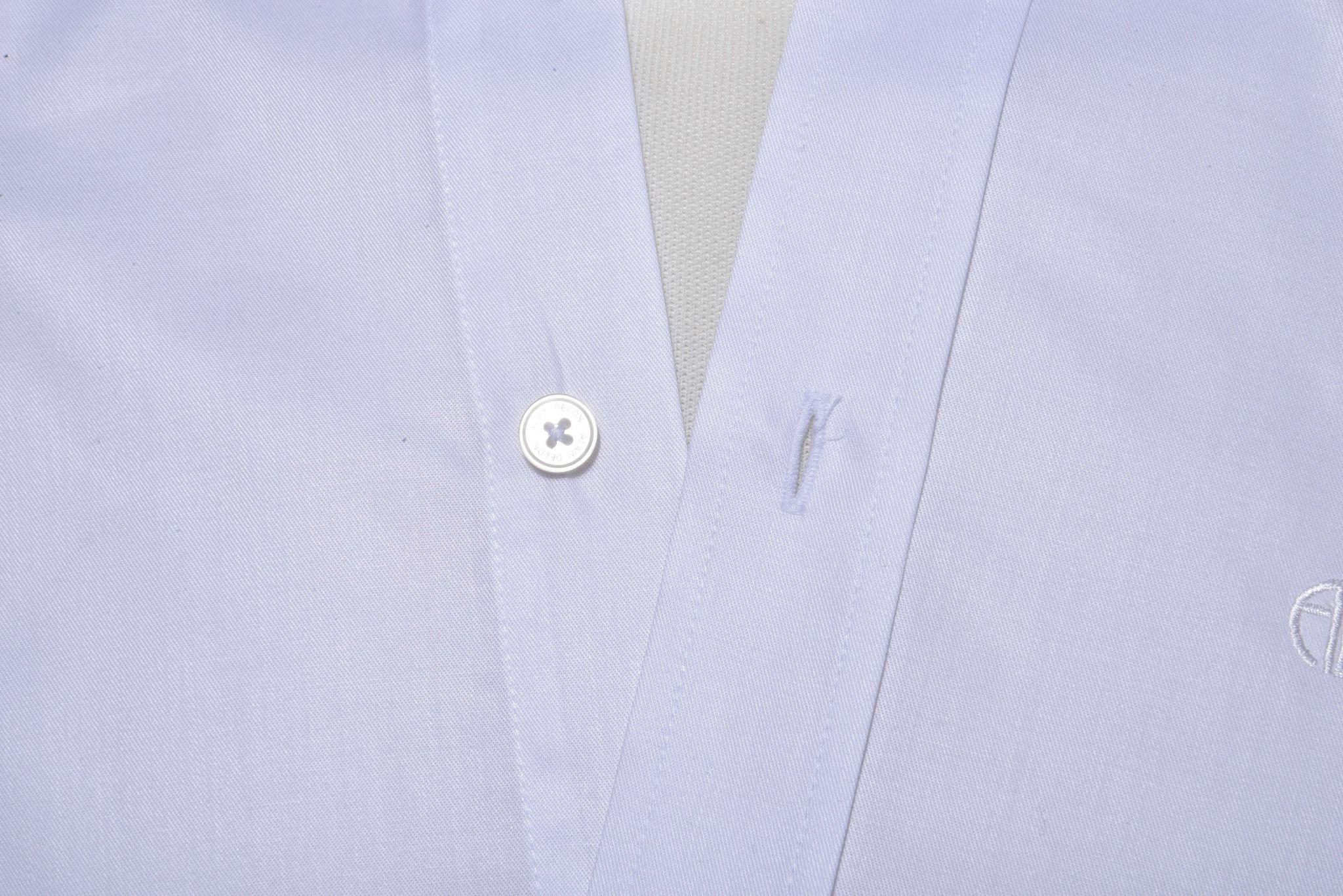 22048cea2f7a Biela Slim Fit košeľa s krátkym rukávom - Short sleeved shirts - E ...