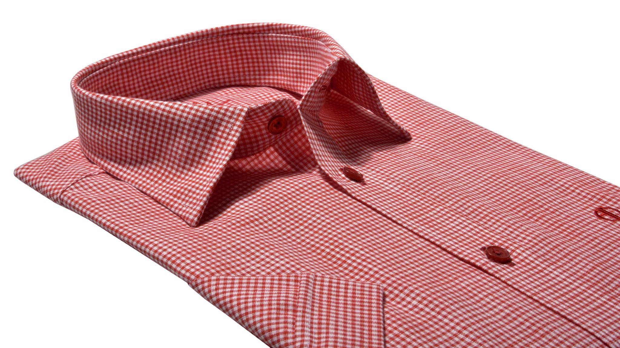 51e7ffdcd802 Károvaná Extra Slim Fit košeľa s krátkym rukávom - Košile krátky ...