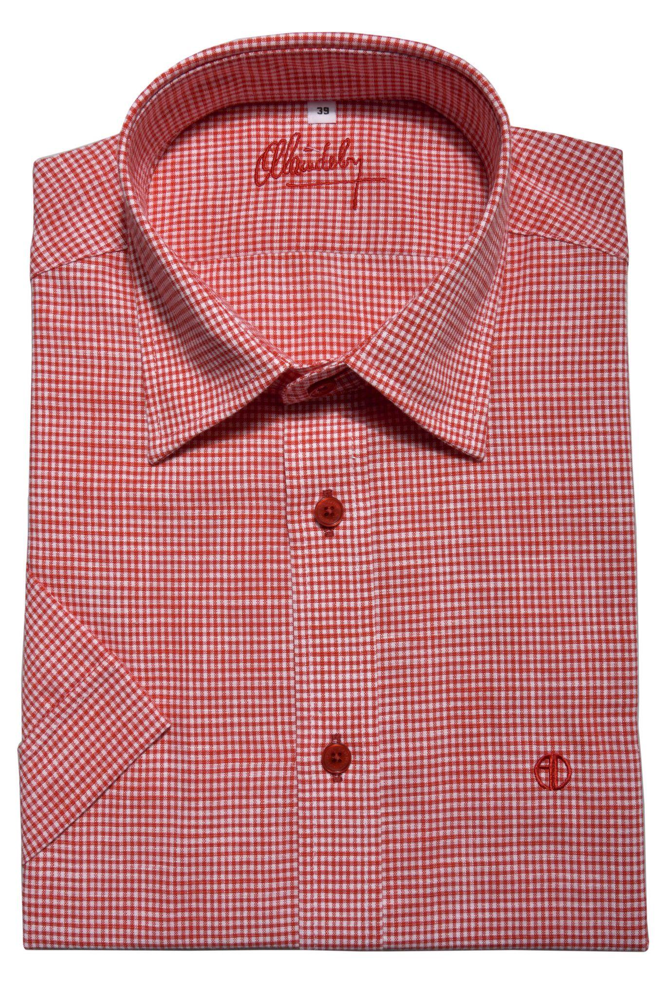 58aa34dbb085 Károvaná Extra Slim Fit košeľa s krátkym rukávom - Košele krátky ...